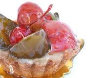Fruit Tart. A glazed Fruit Tart stock images