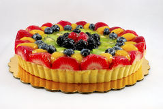 Fruit tart cake Royalty Free Stock Photography