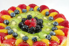 Fruit tart cake Stock Photos