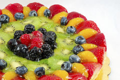 Fruit tart cake Royalty Free Stock Image