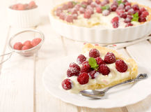 Fruit tart cake Stock Image