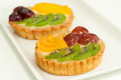 Fruit tart stock image