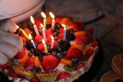 Fruit tart Royalty Free Stock Photo