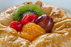 Fruit tart close-up Stock Photography