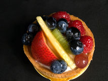 Fruit Tart Dessert Stock Image