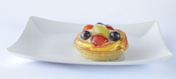 Fruit tart Royalty Free Stock Image