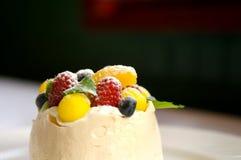 Fruit tart merangue Stock Photos