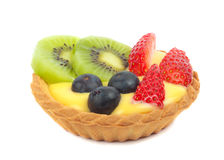 Fruit tart pastry Royalty Free Stock Photo