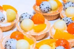 Fruit tart pastry Stock Photos
