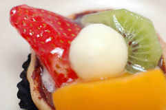 Fruit tart series - overview Stock Photos