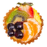 Fruit Tart Top Stock Photo