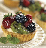 Fruit Tart Royalty Free Stock Photography