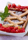 Fruit tarte Stock Photography