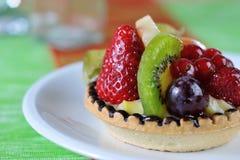 Fruit tarte closeup 2 Stock Photo