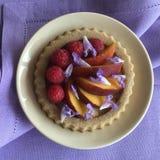 Fruit tartelette. Baking recipe on Royalty Free Stock Photo
