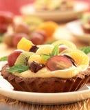Fruit tartlet Stock Photo