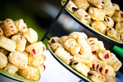 Fruit Tarts Stock Photo
