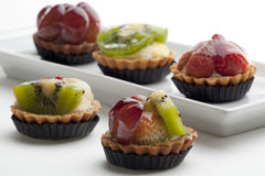 Fruit Tarts Royalty Free Stock Photography
