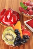 Fruit tarts Royalty Free Stock Photo