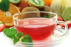 Fruit tea Royalty Free Stock Photo