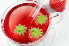 Fruit tea Stock Photography