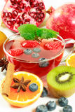Fruit tea Royalty Free Stock Images