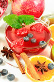 Fruit tea Royalty Free Stock Photography