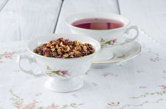 fruit tea with dried fruit Royalty Free Stock Image