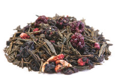 Fruit tea heap Stock Photo