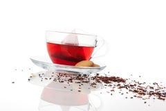 Luxurious fruit tea. Royalty Free Stock Images
