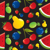 Fruit texture Stock Image