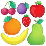 Fruit theme image 3 Stock Image