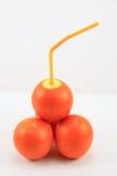Fruit thinning, fruit, oranges, Royalty Free Stock Photography
