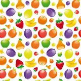 Fruit to background. Seamless pattern Royalty Free Stock Image