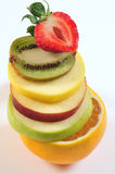 Fruit tower. Royalty Free Stock Photos