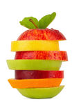 Fruit tower 2 Royalty Free Stock Image