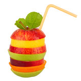 Fruit tower 3 Royalty Free Stock Photography