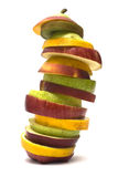 Fruit Tower Stock Photography