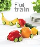 Fruit train Stock Image