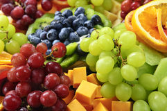 Fruit tray Royalty Free Stock Photography