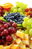 Fruit tray royalty free stock photo