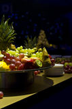 Fruit Tray. Buffet table with display of fruit Royalty Free Stock Images