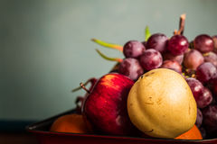The fruit on the tray Royalty Free Stock Image