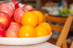 Fruit tray Stock Images