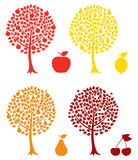 Fruit tree Stock Images