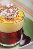 Fruit trifle Stock Images