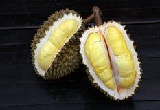 Fruit, tropical, Durian, King of tropical fruit. Durian, King of tropical fruit, Close up of peeled durian royalty free stock photos