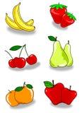 Fruit twee Stock Afbeelding