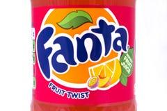 Fruit Twist Fanta Royalty Free Stock Photos