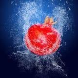 Fruit under water Royalty Free Stock Image